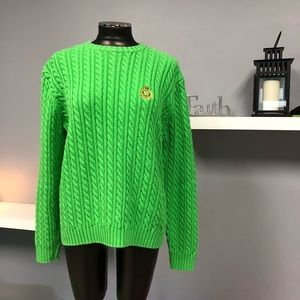 Ralph Lauren green sweater